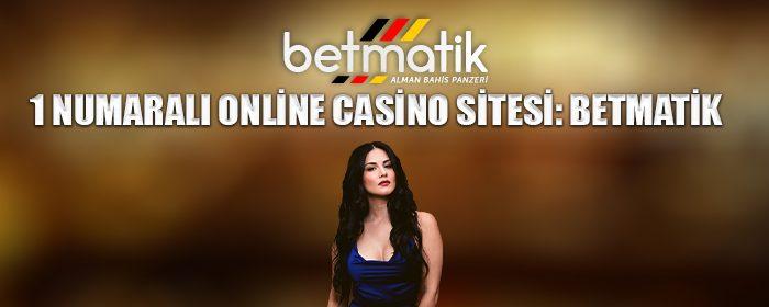 1 numaralı online casino sitesi: Betmatik