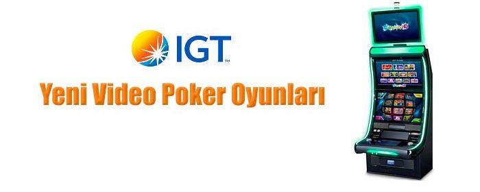 IGT firmasının yeni video poker oyunlarını yazımızda bulabilirsiniz.